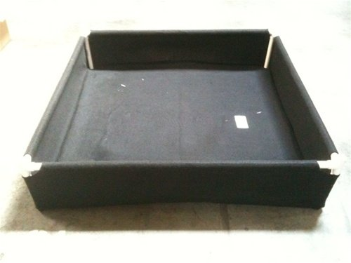 GeoPlanter Black Tray Liner 48''x48''x10'' by GeoPot