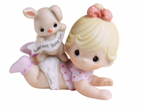 Amazon.com: Precious Moments The Sweetest Baby Boy, Bisque Porcelain  Figurine, Boy, 101500: Home U0026 Kitchen