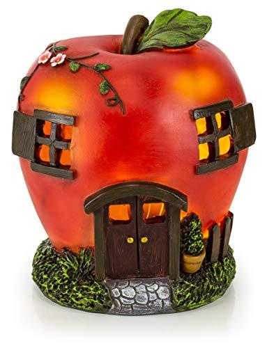 VP Home Apple Fairy House Solar Garden ()