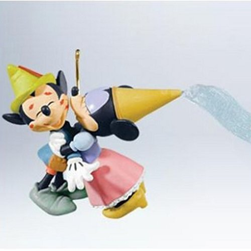 Hallmark 2011 Brave Little Tailor Mickey and Minnie Mouse Ornament -