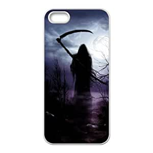 D-PAFD Diy Grim Reaper Selling Hard Back Case for Iphone 5 5g 5s