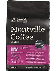MONTVILLE COFFEE Sunshine Coast Blend Espresso Ground Coffee, 250 g