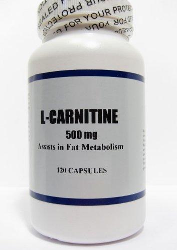 L-Carnitine, Fat Metabolizer, 120 500mg caps