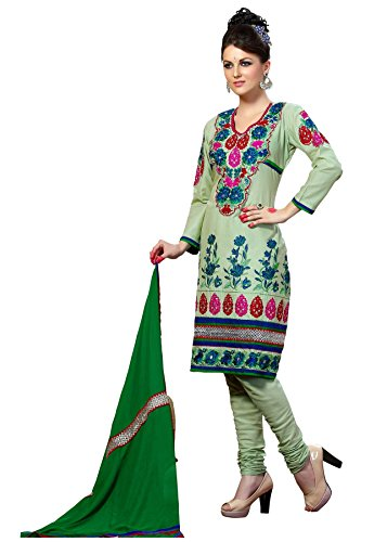 Cenizas embroidered Semi Stich Salwar Suit Duptta (2007)