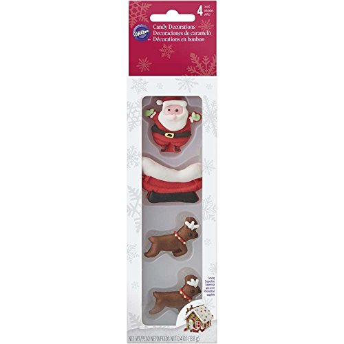 a and Reindeer Sleigh Candy Decorations ()