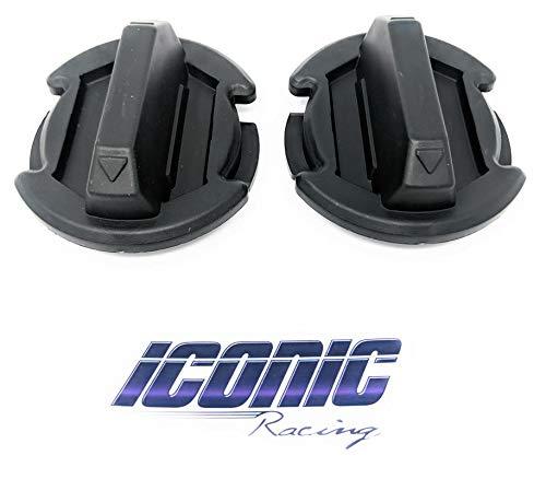 Floor Drain Plug Twist Cap Trap Seal for Polaris RZR 1000 900 XP Turbo 4 S Qty. 2 ()