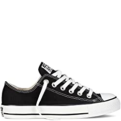 Converse Chuck Taylor All Star Lo Top Black Canvas (Size 10.5)