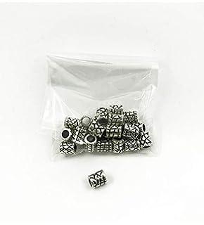 Cierres permanentes para pulseras de tela. Pack de 25 unidades.: Amazon.es: Oficina y papelería