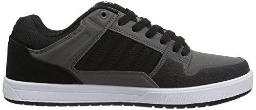 Chaussures Black DVS Homme Charcoal de Portal Leather Shoes Skateboard rx0wzrq