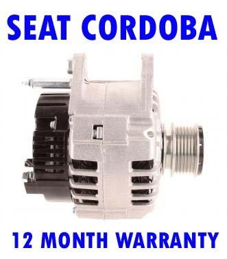 Seat Cordoba 1.9 2.0 1996 1997 1998 1999 2000 2001 2002 2003 - 2009 Alternator 12 meses de garantía: Amazon.es: Bricolaje y herramientas