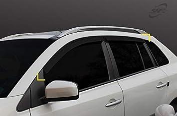 Autoclover Windabweiser Set Für Renault Koleos 2008 2015 4 Teilig Auto