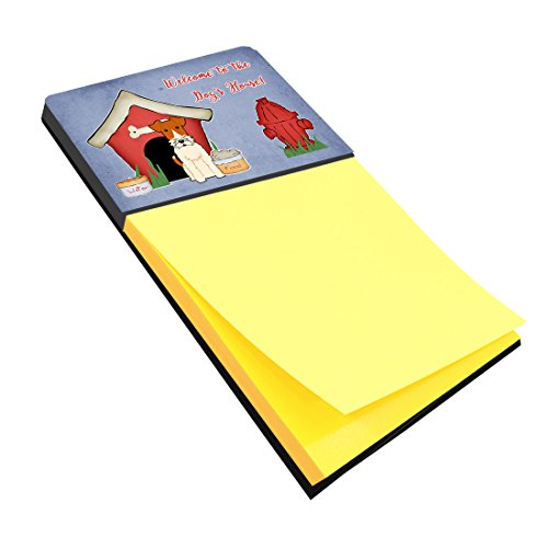 Caroline's Treasures Dog House Collection Wire Fox Terrier Sticky Note Holder, Multicolor (BB2855SN) by Caroline's Treasures