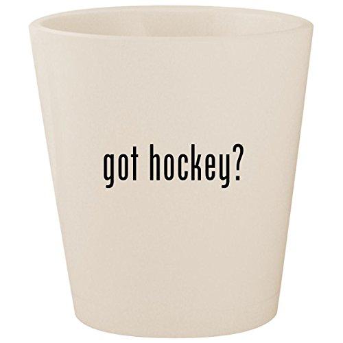 got hockey? - White Ceramic 1.5oz Shot Glass -