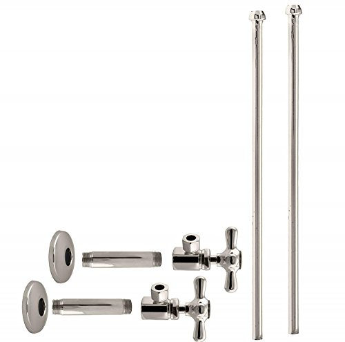 aucet Kit with Cross Handles, 1/2