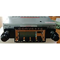 1968-1976 Chevrolet Corvette Bluetooth enabled High power AM/FM Stereo Radio KHE300 USB Flash, Aux, Mini SD Inputs