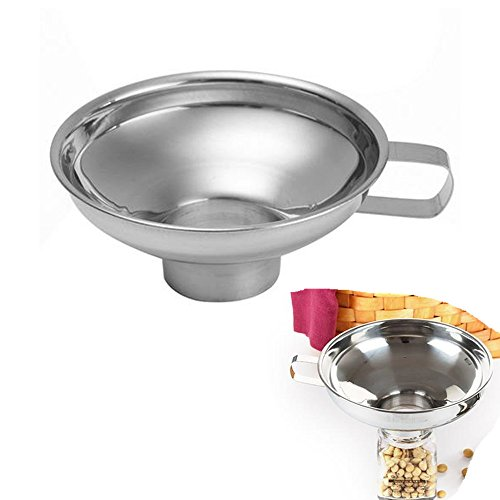 Koolemon Stainless Funnel Strainer Colander