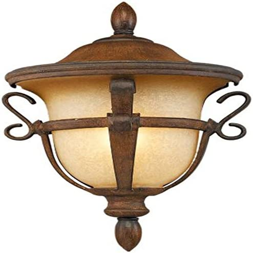 Kalco 9390MB Tudor Outdoor 1 Light Porch Light, Medium