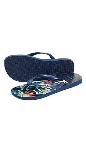 Havaianas Mens Top Tropical Sandals Navy Blue ajiwH1