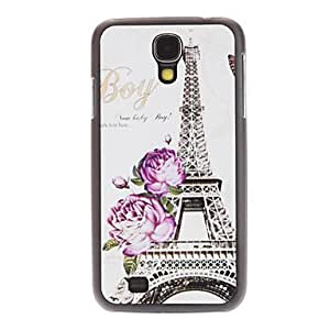 ZCL Flowery Eiffel Tower Pattern Hard Case for Samsung Galaxy S4 I9500