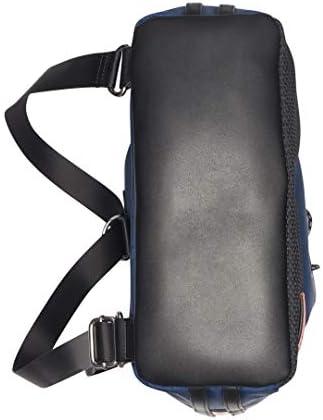 Calvin Klein Women's Whendi Nylon & Mesh Draw String Backpack, Navy, One Size