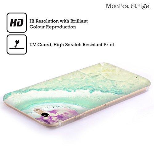 Officiel Monika Strigel Aqua Claire d'Or Améthyste Étui Coque en Gel molle pour Apple iPhone 4 / 4S