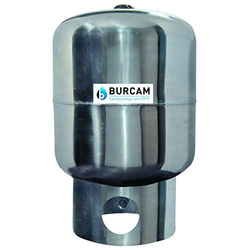 BURCAM 600545SS 20 Gal Vertical Stainless Steel