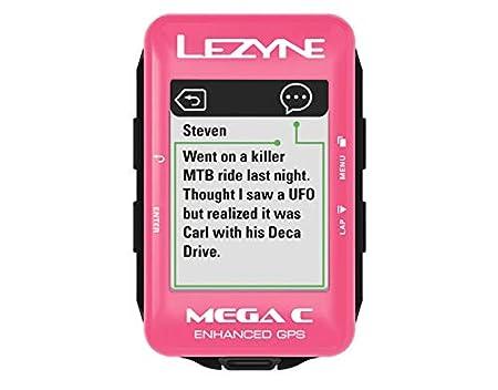 Black Lezyne Mega C GPS Bike Computer with Included Garmin Speed and Cadence Sensors and Wearable4U Cycling Multi Tool Bundle