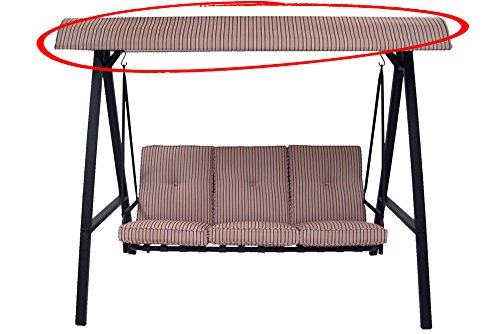 Replacement Canopy for Mainstays 3- Person Swing True to Original Color & Pattern