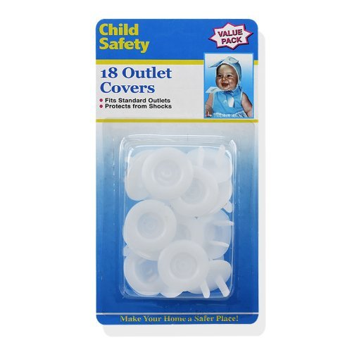 UPC 962466027581, 18-Count Child Safety Outlet Covers - Make Your Home a Safer Place