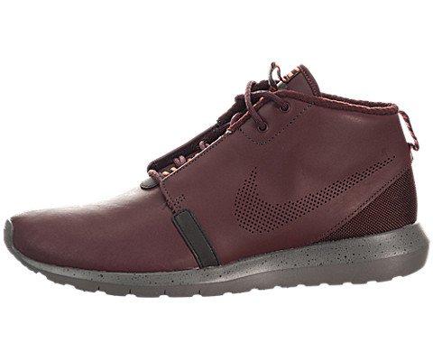 Nike Roshe Run NM SneakerBoot PRM - Barkroot Brown / Cedar-Velvet Brown-Hyper Crimson, 8.5 D US