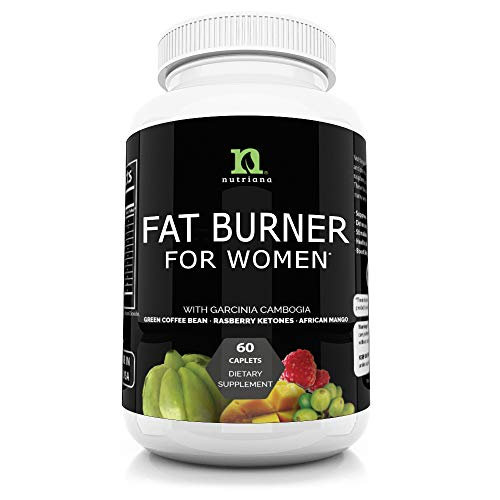 Best Fat Burners for Women | All Natural Weight Loss Pills That Work | Feel Full Longer | Fat Burner for Women | Metabolism Booster | Diet Pills | Keto Carb Blocker Supplement