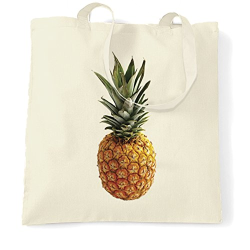 Size Fruit Summer Natural Natural Pineapple Bag Tote Photograph Trendy One df8q1w1