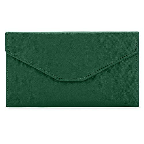 Sookiay Womens Envelope Clutch Wallet - Deep ()