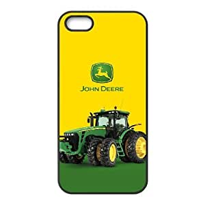 Printed Cover Protector iPhone 5, 5S Cell Phone Case Black John Deere Scohj Unique Design Cases