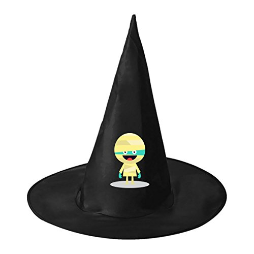 Cute Mummy Cosplay Witch Hat Toy to Costume Accessory Halloween Ball for Kids Adults