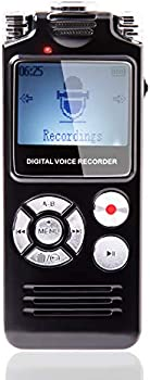 Haelpu 16GB Voice Activated Digital Voice Recorder
