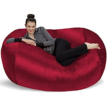Amazon Com Jaxx 6 Foot Cocoon Large Bean Bag Chair For