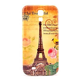 JOE Famouse Eiffel Tower with Bird Pattern Plastic Protective Back Cover for Samsung Galaxy S4 I9500