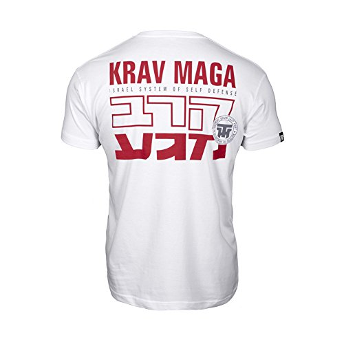 Thumbs Self Martial Maga Israel Defense Homme System Down shirt T Casual Arts Krav Of rwarBqTz