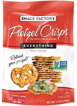 Snack Factory Deli Style Crunchy Pretzel Cracker Crisps, 8 Flavor Variety Pack, 7.2 Ounce Bags (Pack of 16) by Snack Factory (Image #9)