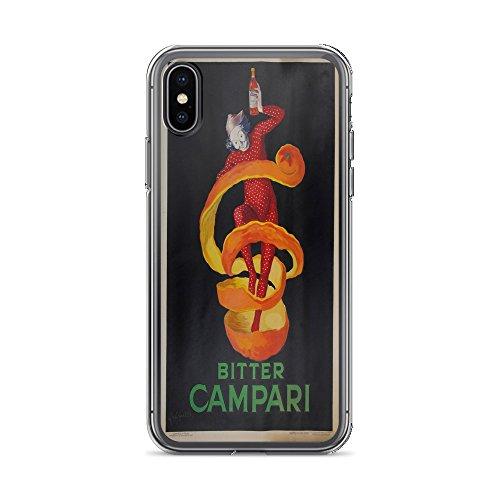 (Vintage Poster - Bitter Campari 0339 - iPhone XR Phone Case)