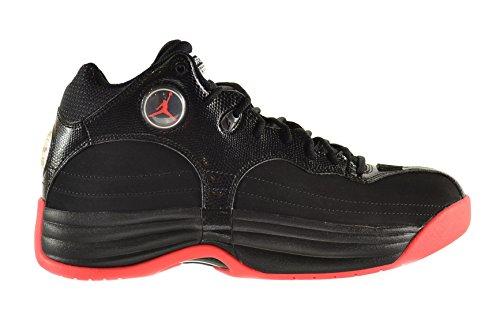 Jordan Jumpman Team 1 Men's Shoes Black/Infrared-White 644938-023 (10.5 D(M) US)