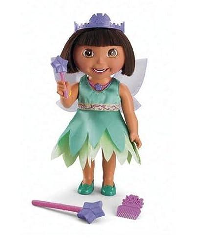 Amazoncom Fisher Price Dora The Explorer Fairy Wishes Dora Toys