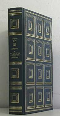 Isabelle - La Symphonie pastorale - Paludes par André Gide