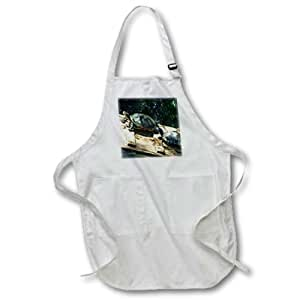 Florene Nature n Animals - Lead The Way - Full Length Apron with Pockets 22w x 30l (apr_25229_1)