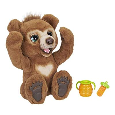 FurReal Cubby, The Curious Bear Interactive Plush Toy, Ages 4 and Up: Toys & Games