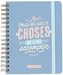 Mr. Wonderful Agenda semanal línea clásica 18 - 19 Les Mille ...
