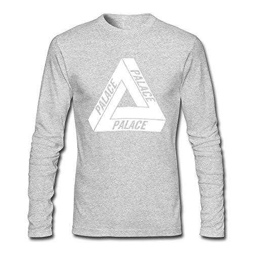 964409ea9245 WELLSBWSDWA GODWARDWELL Hip Hop Palace Skateboard Sport Long Sleeve T  Shirts for Mens Womens HeatherGray Small -