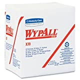 Kimberly-Clark Professional* - Wypall X70 Wipers 1/4-Fold 12 1/2 X 12 White 76/Pack 12 Packs/Carton ''Product Category: Breakroom And Janitorial/Cleaning Tools & Supplies''