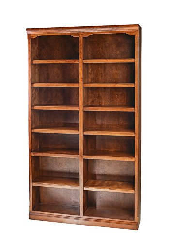 Alder Unfinished Bookcase - Traditional Bookcase 48